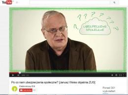 Janusz Weiss objasnia ZUS