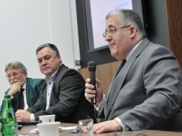 Mark Rachovides, prezydent Euromines, Jacek Kardela, Henryk Karaś