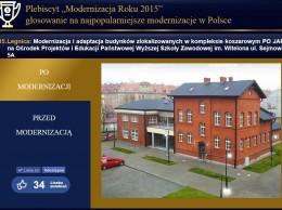 Plebiscyt modernizacja roku 2015