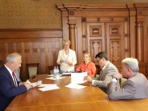 Podpisanie umowy MPK