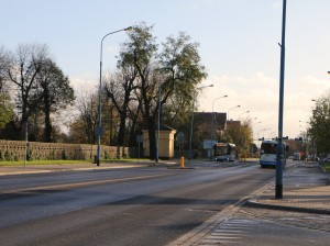 ul. Wrocławska (na 1 listopada)
