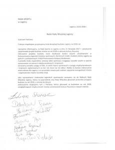 Skan pisma Rady Sportu-1