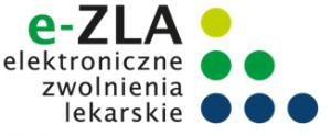 e ZLA logotyp
