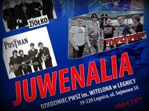Plakat Juwenalia 2018 - zespoły