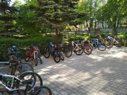 Rowerowy maj w szkole