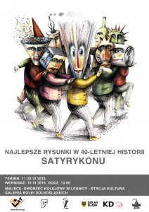WYSTAWA_Najlepsze Rysunki w 40letniej historii Satyrykonu