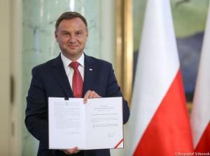 Zdjęcie Prezydenta RP Andrzeja Dudy