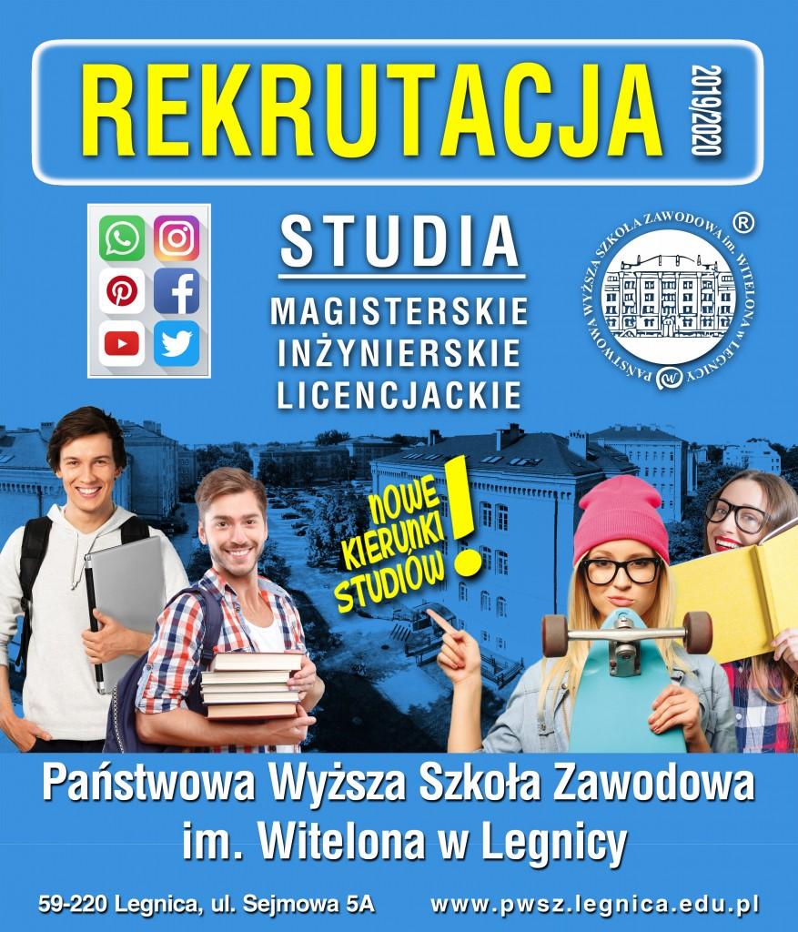 Studiuj w Państwowej Wyższej Szkole Zawodowej im  Witelona w