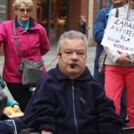 protest niepelnosprawnych 090