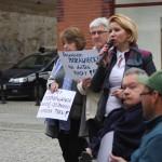 protest niepelnosprawnych 127